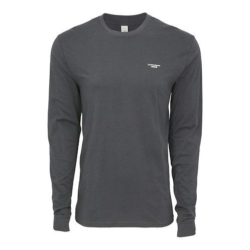 Lookoutgear Est Long Sleeve Crew Shirt - Slate Gray
