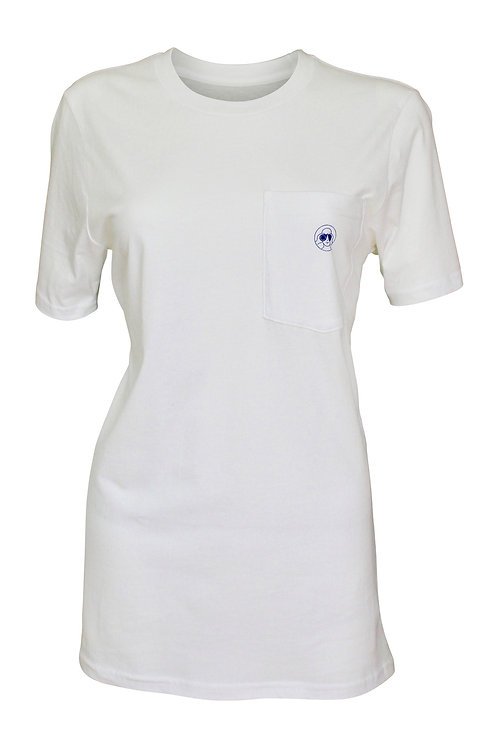 Lookoutgear Women Short Sleeve Crew Pocket Tee