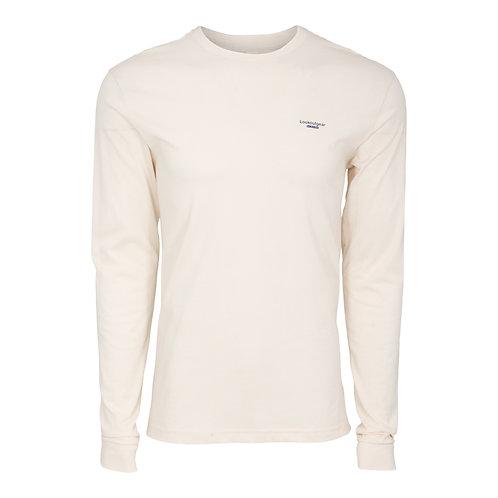 Lookoutgear Est Long Sleeve Crew Shirt - Natural