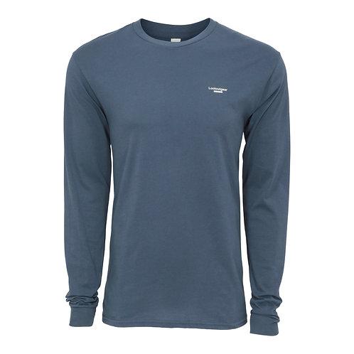Lookoutgear Est Long Sleeve Crew Shirt - Pacific Blue