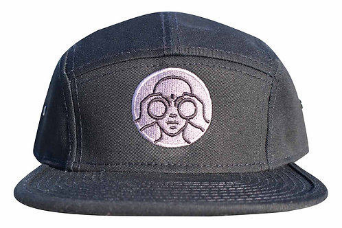 Lookoutgear Jockey-Camper Cap - Black