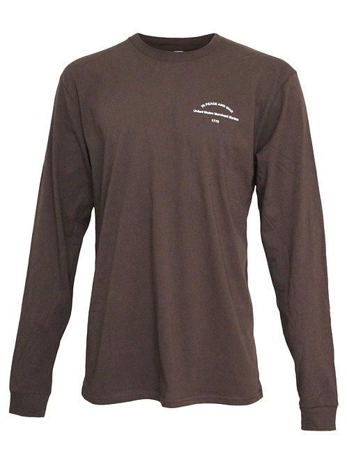 Lookoutgear Long Sleeve Crew Shirt - Brown - USMM