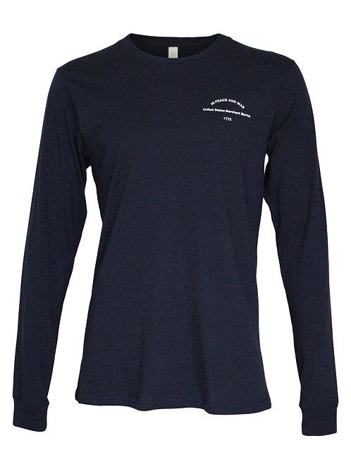 Lookoutgear Long Sleeve Crew Shirt - Blue - USMM
