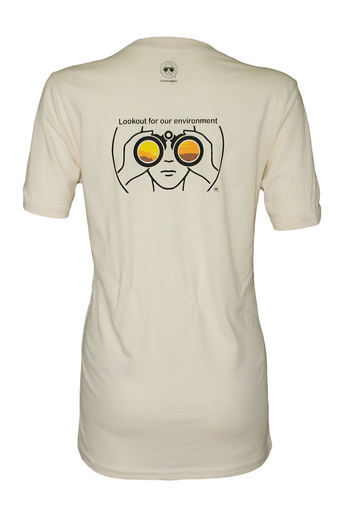 Lookoutgear Women Short Sleeve Crew Tee - Environment Lookout - Back