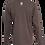 Thumbnail: Lookoutgear Long Sleeve Crew Shirt - Brown - USMM