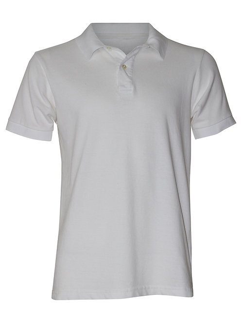 Lookoutgear Men's Polo Shirt - White