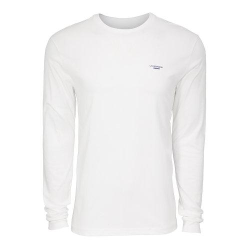 Lookoutgear Est Long Sleeve Crew Shirt - White