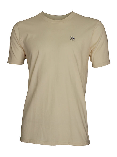 Lookoutgear Men Short Sleeve Crew Tee - Natural