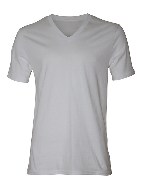 Lookoutgear Short Sleeve V-Neck T-Shirt - White