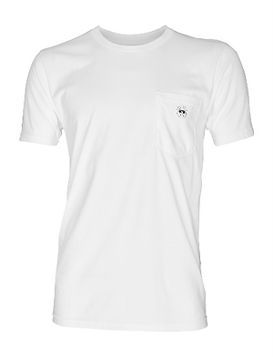Lookoutgear White Pocket T Shirt