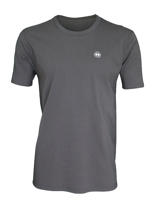 Lookoutgear Men Short Sleeve Crew Tee - Slate Gray