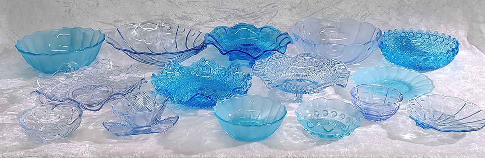Mixed Blue Glassware.jpg