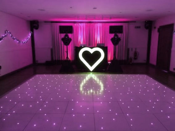 Dance floor and white heart.jpg