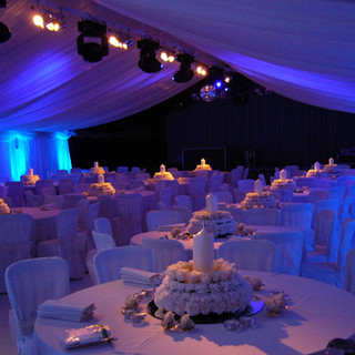 Blue Marquee