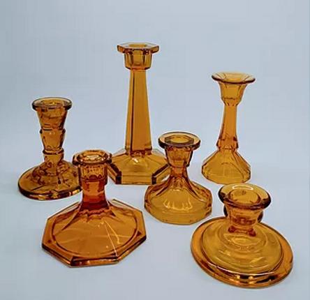Amber Art Deco Candlesticks.PNG