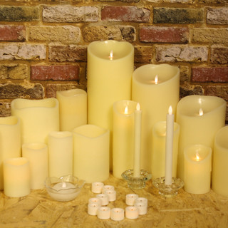 Candles In Daylight.
