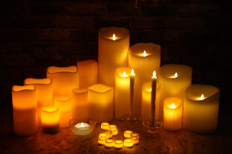 Candles In The Dark.JPG