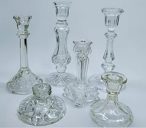 Clear Art Deco Candlesticks.PNG