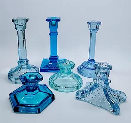 Blue Art Deco Candlelsticks.PNG