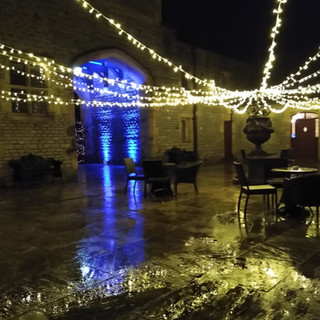 Fairy Light Canopy Outdoors