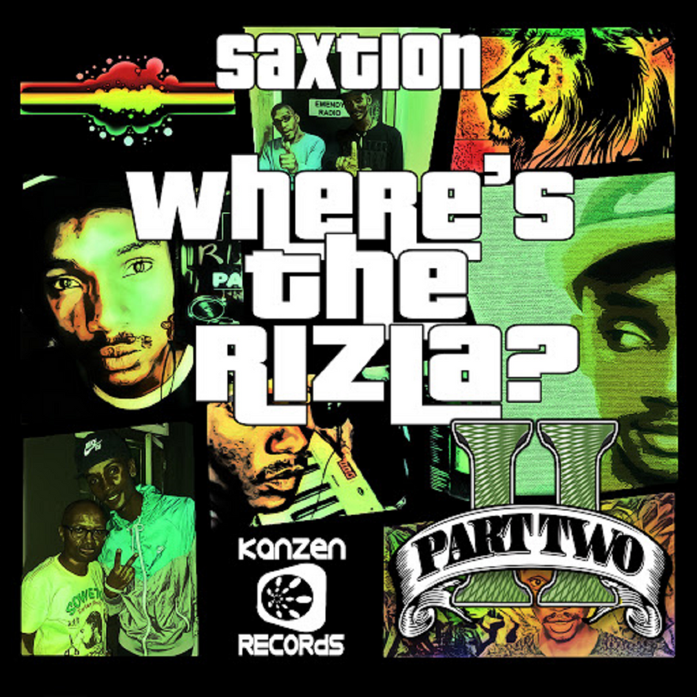 KNZ058 Saxtion - Where's the Rizla, Part 2