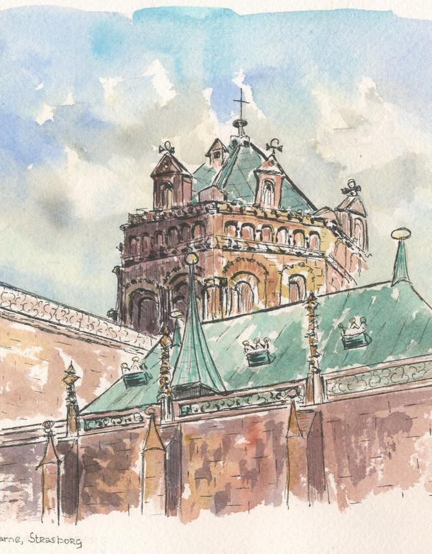 Strasbourg Cathedral pen WC 2018.jpg