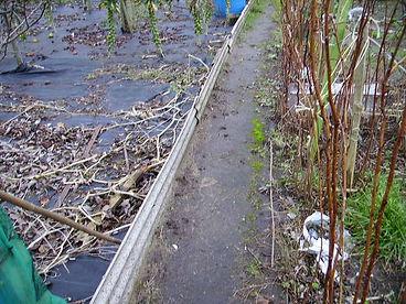 Asbestos cement sheets in Porthcawl, Bridgend, confirmed by bulk sampling, 2006