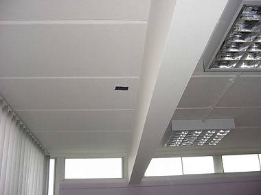 "Asbestos-containing ""artex""-type decorative ceiling coating in Llandaff North, Cardiff, confirmed by bulk sampling, 2003"