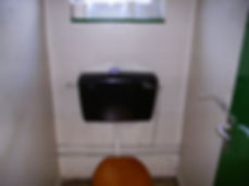 Asbestos-reinforced cistern from a Type 2asbestos survey in Caldicot, 2006