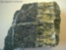 "Bridgend Asbestos Services:  Chrysotile ""white"" asbestos rock"
