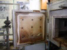 Asbestos rope door seal in Cwmbran, confirmed by bulk sampling, 2007