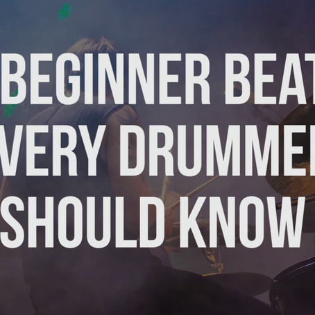 9 Beginner Beats Every Drummer Should Know
