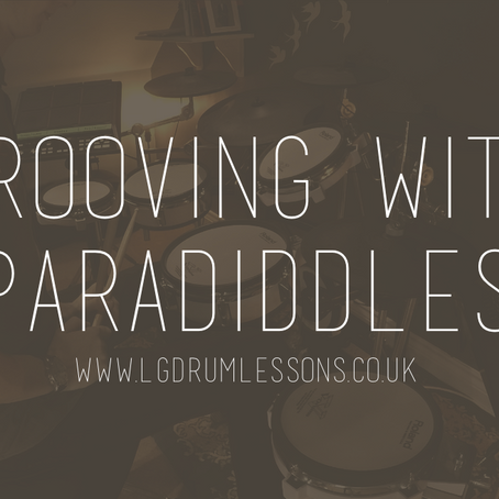 Grooving with Paradiddles