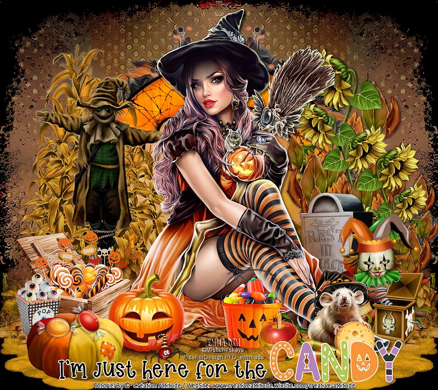 tuto  halloween candy creative attitude