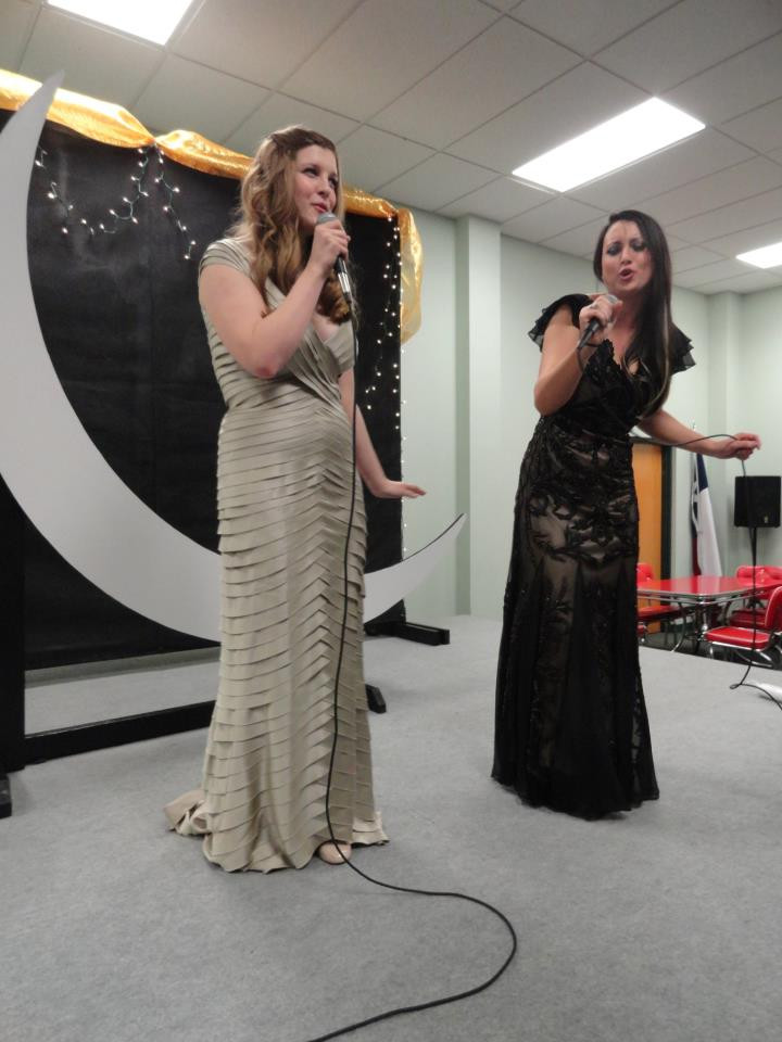 "Brooklynn and Helaina performing ""All That Jazz"" at Girlfriend Weekend during the Gilded Age!"