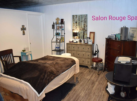 A spa day at Salon Rouge Spa!