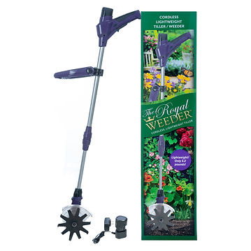The Royal Weeder, batter and charging unit