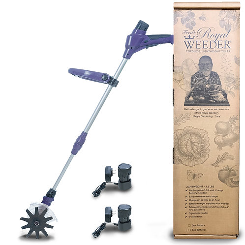 Royal Weeder w/Two 10V Rechargeable Batteries and charging unit