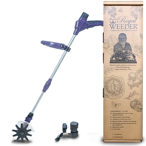 Royal Weeder with 10V Battery and Charging Unit