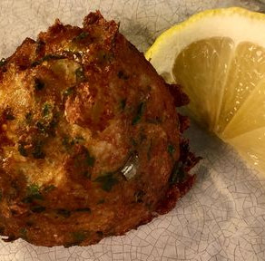 Portugese Salted Codfish Fritters