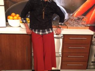 Culottes and mixed plaid tops