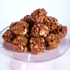 Caramel and Peanut Popcorn Balls