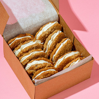Carla Hall's Oatmeal Sandwich Cookie