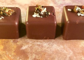 Fennel and Peppercorn Spiced Chocolates