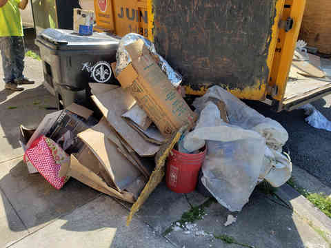 huge junk removal job in new orleans