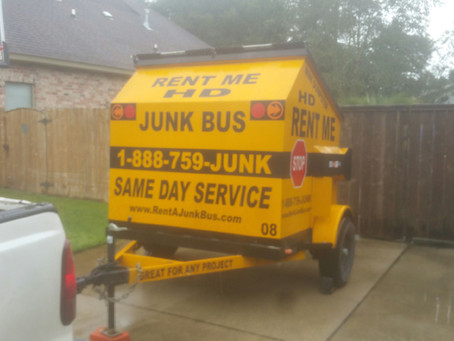 "RENTING A 6-YARD MINI DUMPSTER RENTAL IN LOUISIANA "" We Drop Off We Pick Up"""