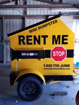 6-yard Dumpser Rental on Wheels Picayune, MS