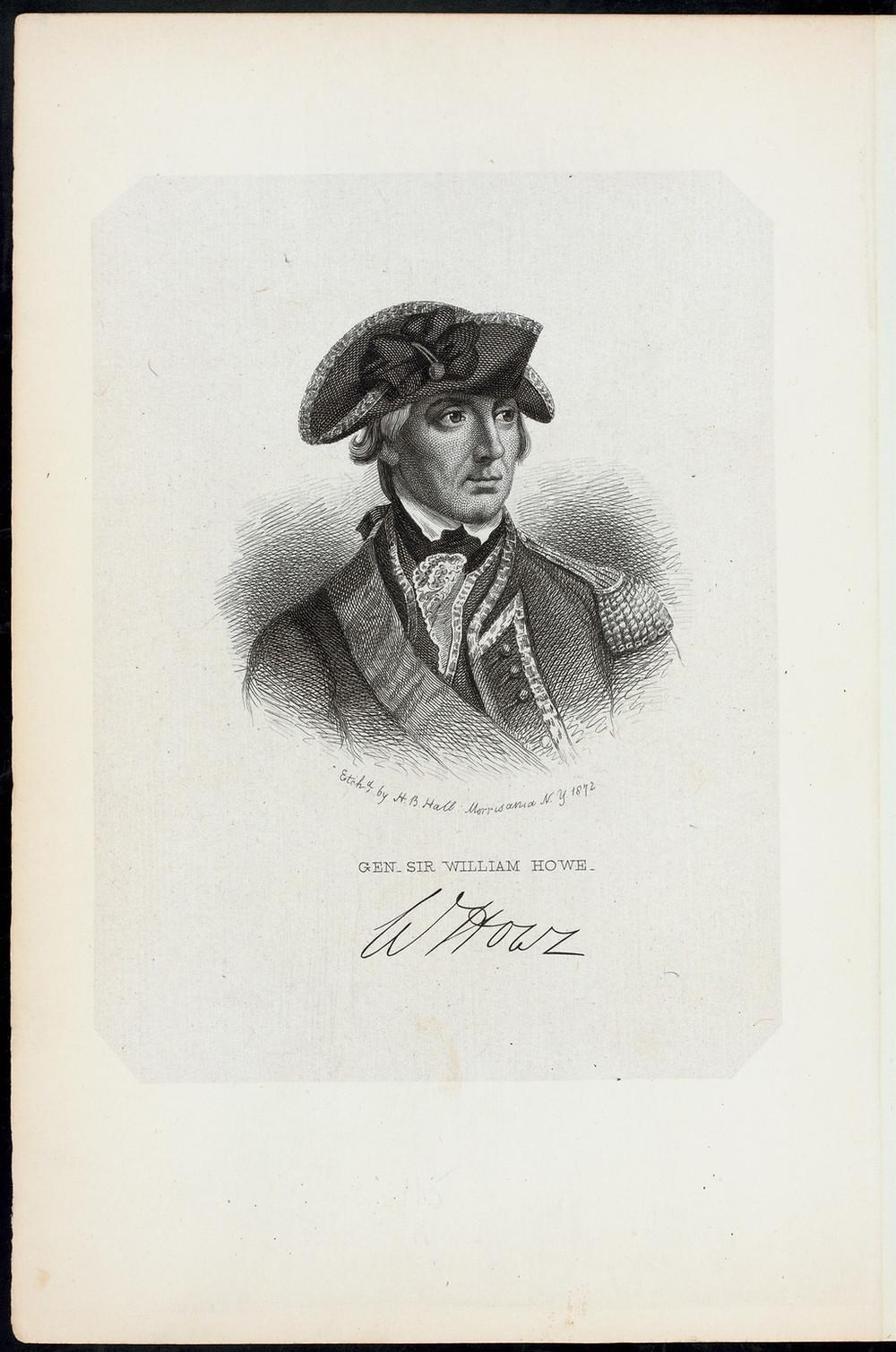 Gen. Sir William Howe. - New York Public Library