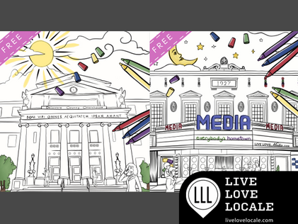 The Delco & Media Coloring Books – Free Preview & Download