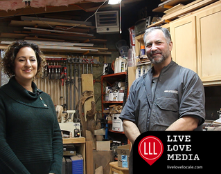 Local Artist Scott's Mini Woodshop, Studio Media Woodworking